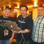 Kevin Mitnick, Vladimir Katalov and Andrey Belenko
