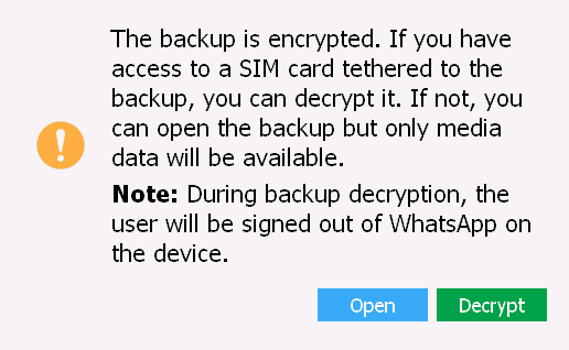 Extract and Decrypt Android WhatsApp Backups from Google