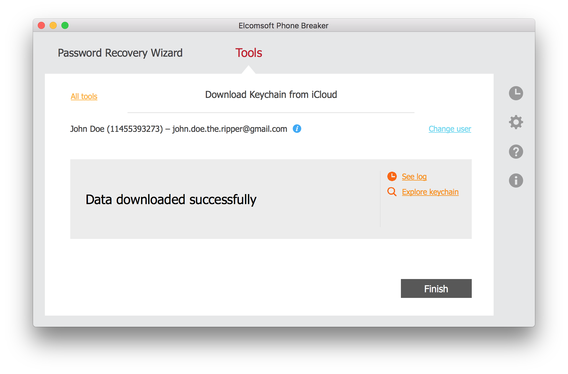 How to Extract iCloud Keychain with Elcomsoft Phone Breaker ... f30bcbc8a
