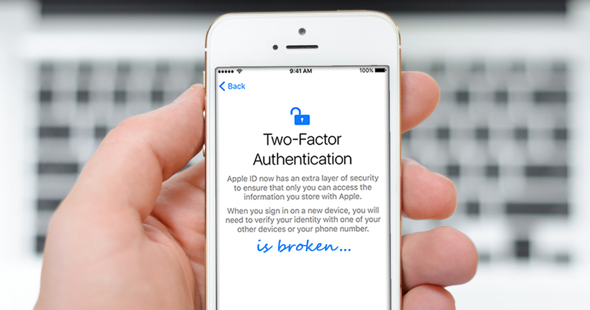 Breaking Apple iCloud: Reset Password and Bypass Two-Factor