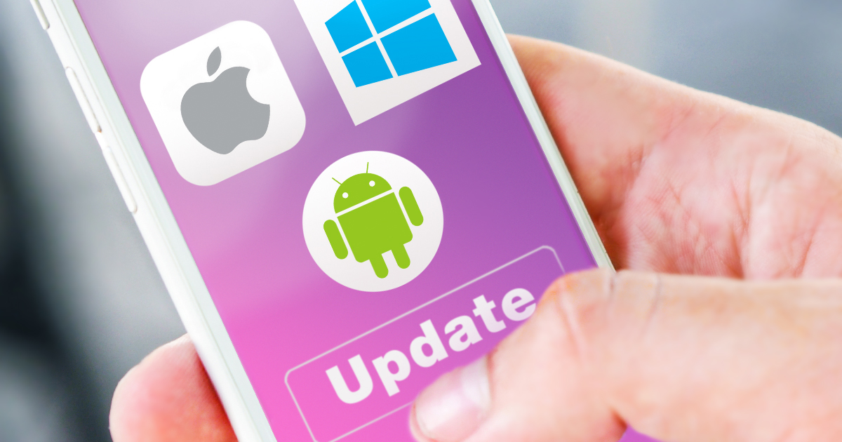 Forensic Implications of Software Updates: iOS, Android