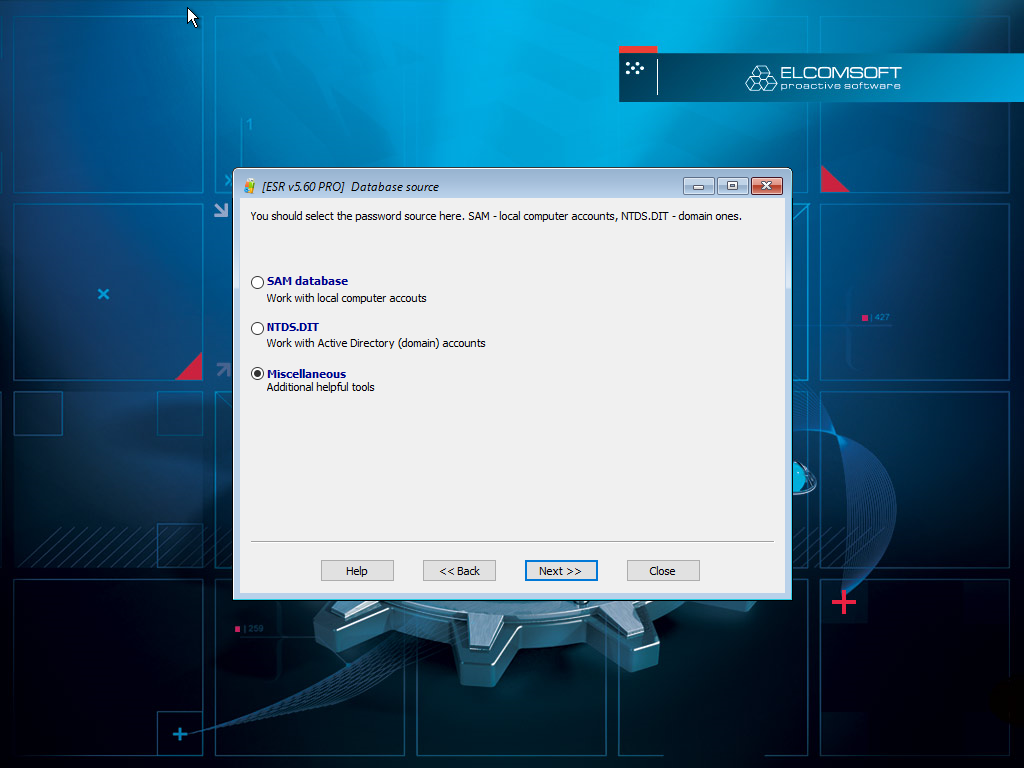 How to Reset or Recover Windows SYSKEY Passwords | ElcomSoft
