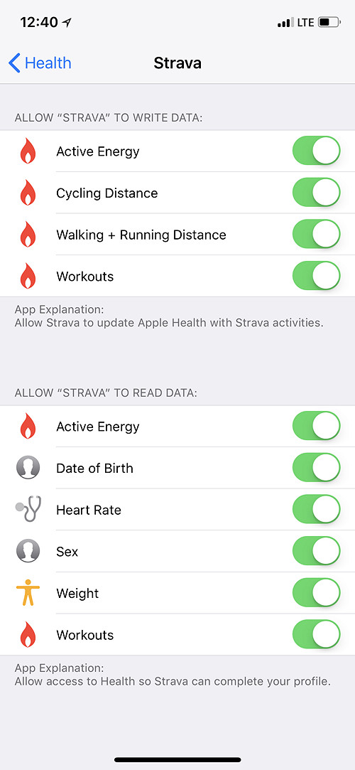 Securing and Extracting Health Data: Apple Health vs  Google Fit